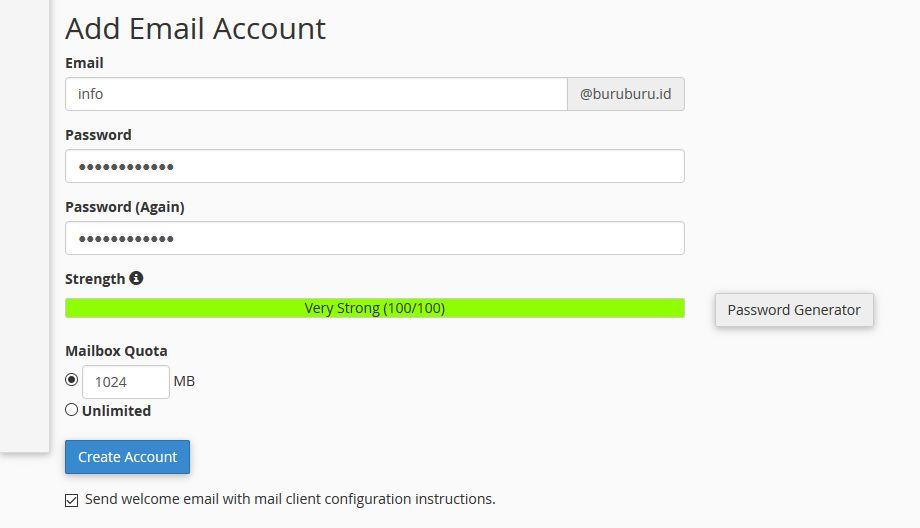 Cara Membuat Email dengan Domain Sendiri di cPanel