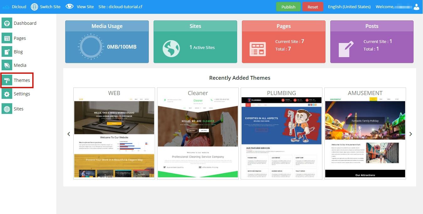 tutorial website builder
