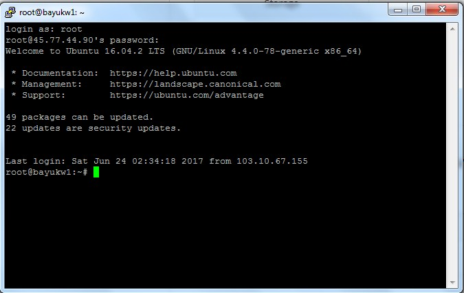 Cara Login ke Server Dicloud VM/VPS