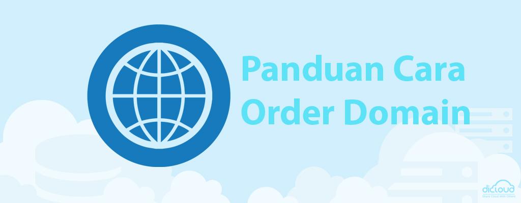 Panduan Cara Order Domain di Dicloud.id