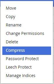 Cara Compress File pada File Manager