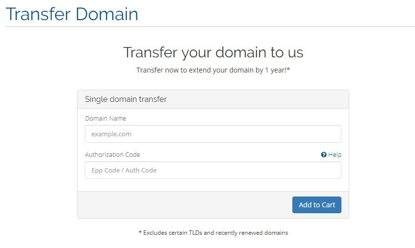Cara Transfer Domain