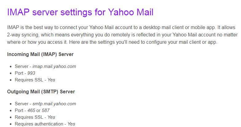 Cara Setup Yahoo di Outlook