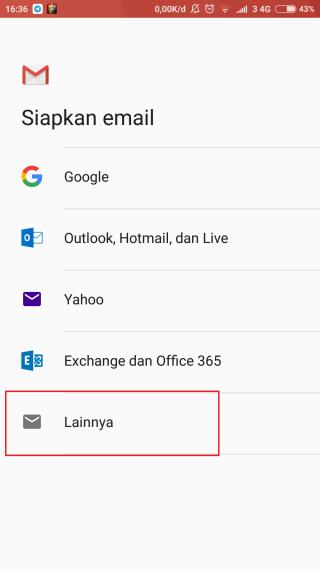 Panduan Cara Setup Email cPanel di Aplikasi Gmail Android