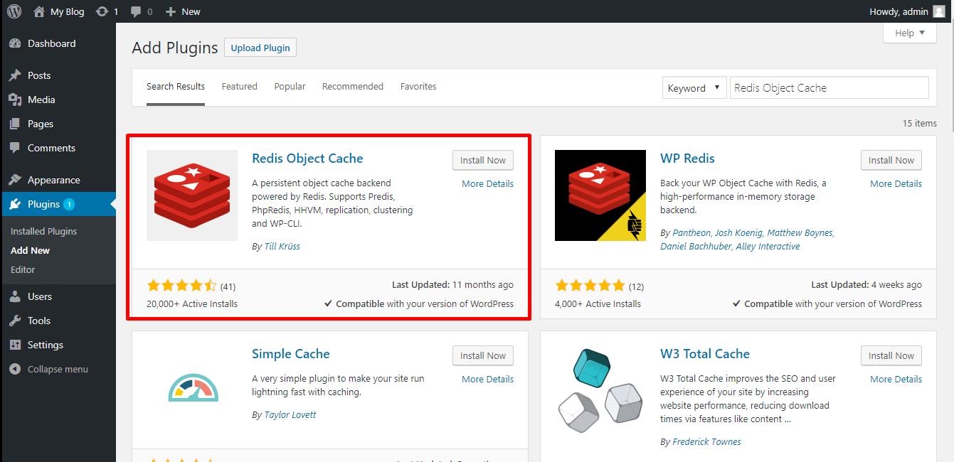 Panduan Cara Mengaktifkan Plugin Redis Object Cache di WordPress