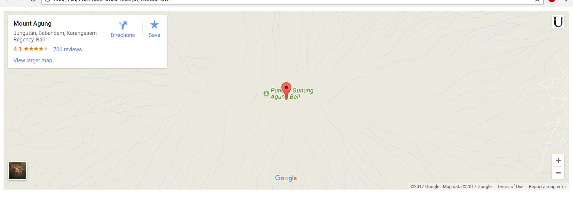 Pengenalan Code HTML Google Maps