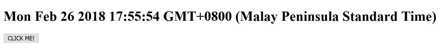Pengenalan Code Javascript Date
