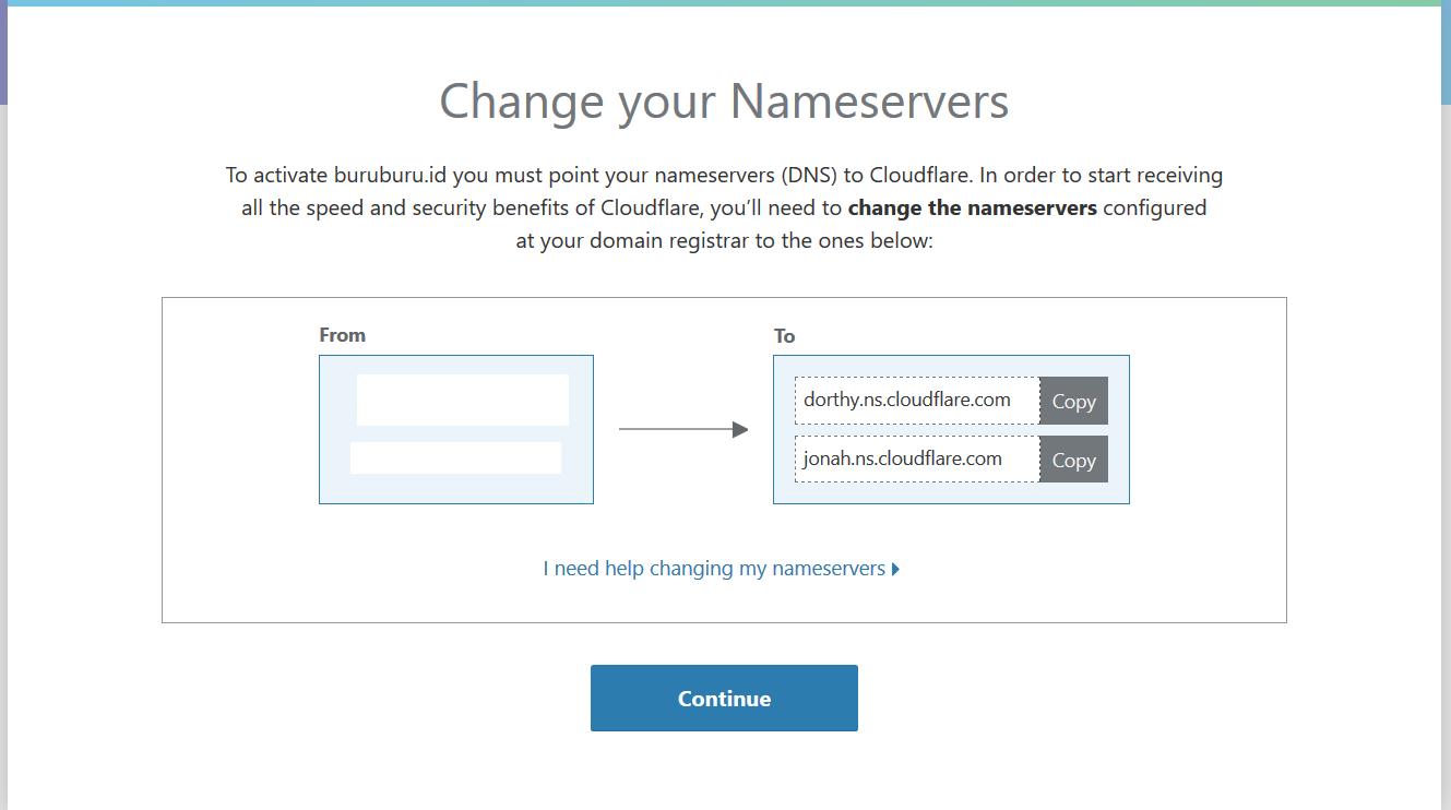 Panduan Menggunakan Cloudflare Di VM/VPS