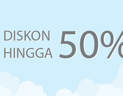 Diskon Hosting hingga 50%
