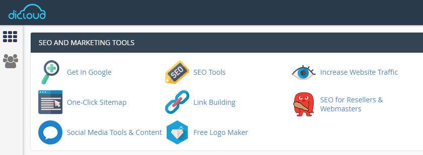 Mengenal kegunaan Attracta SEO Tools pada cPanel