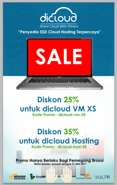 Promo Bekraf Developer Day Bali 35% Hosting dan 25% VM