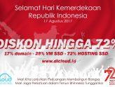 Promo Diskon Kemerdekaan 72 Tahun Indonesia