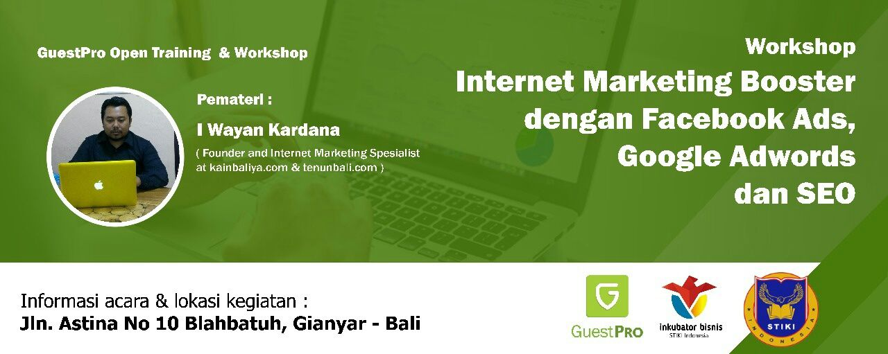 Workshop Internet Marketing & SEO di GuestPro