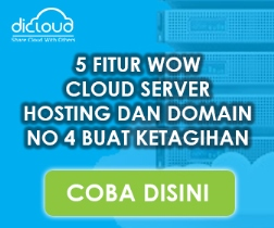 Dicloud | SSD Web Hosting Cloud Indonesia